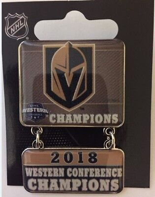 Vegas Golden Knights Champions Pin Western Conference Dangler Style Stanley Cup