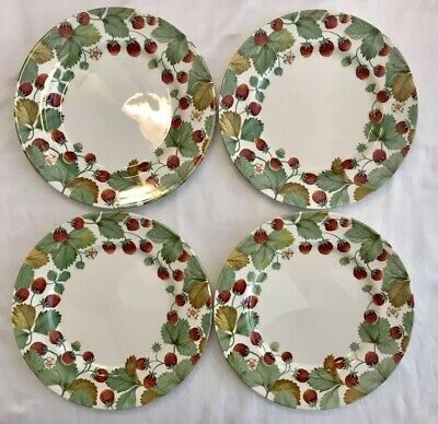 """ROYAL STAFFORD WILDBERRY DINNER PLATE 11"""" Quantity Available Strawberry PERFECT"""