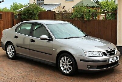 SAAB 9-3 1.8T Linear Sport, Steel Gray Metallic, Parking Sensors, Immaculate Car