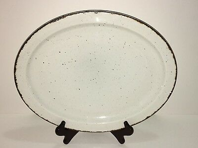 "Wedgwood MIDWINTER STONEHENGE CREATION 13 5/8"" OVAL SERVING PLATTER Made England"