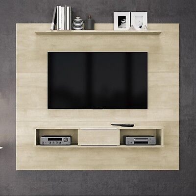 Floating Entertainment Center Rustic Wall Unit Mount Media 70 Inch