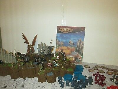 heroscape master pack the rise of the Valkyrie, the complete set used.