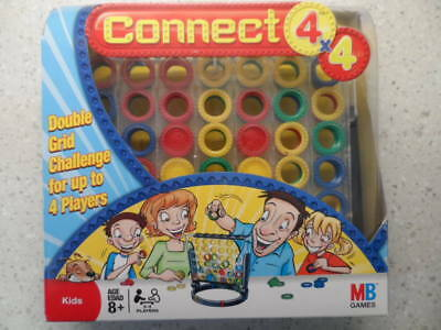 Conect 4 X 4 Game Milton Bradley New In Box Perfect Great Price