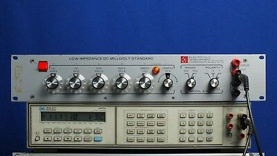 Electronic Development Corporation EDC E100 Low Impedance DC Millivolt Standard
