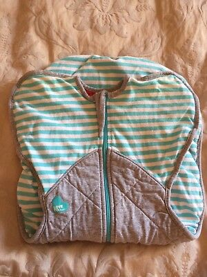 Love To Dream Blue & Grey Swaddle Up Winter Warm, Size Small. Was $59.95