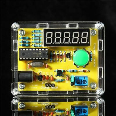 LED DIY Kits Meter Crystal Oscillator Tester 1Hz-50MHz Frequency Counter
