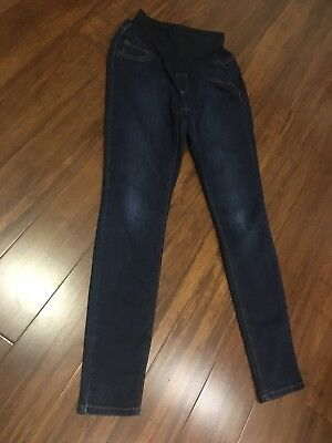 Jessica Simpson Maternity Womens Size Small Skinny Jeans Belly Band