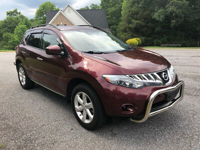 2009 Nissan Murano S AWD 69,000 miles! NO RESERVE! Only 69,000 miles, all-wheel drive, front and rear push bars,cold ac