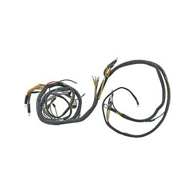 Cowl Dash Wiring Harness - With Voltage Gauge - 2 Brush Generator - Ford Deluxe