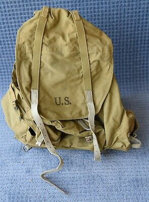 10th Mountain Division Backpack with Frame dated 1943