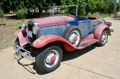1930 Ford Model A DeLuxe Roadster 1930 Ford Model A Roadster