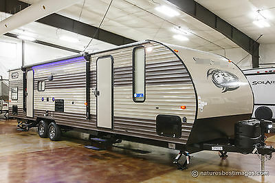 New 2018 29TE Limited Lite Bunkhouse Travel Trailer Quad Bunks with Slide Out