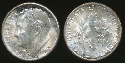 United States, 1951-S Dime, Roosevelt (Silver) - Uncirculated