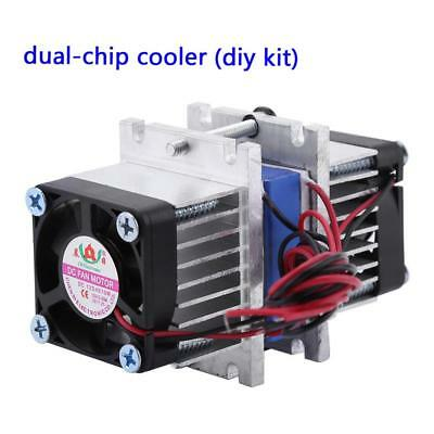 144W Semiconductor Thermoelectric Peltier Refrigeration Cooler Water Cooling Kit