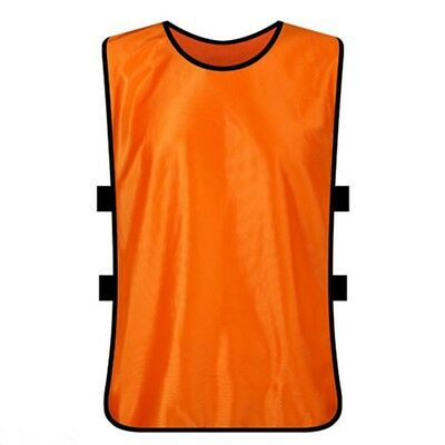 c815642f1 Team Football Soccer Training Adults Pinnies Jerseys Scrimmage Vest Plus  Size YG