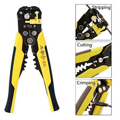 Wire Stripper Crimping Tool Automatic Cable Crimper Self Adjustable Plier Cutter