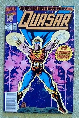 Quasar #16 (Nov 1990, Marvel) 6.0 FN  (Double size issue)