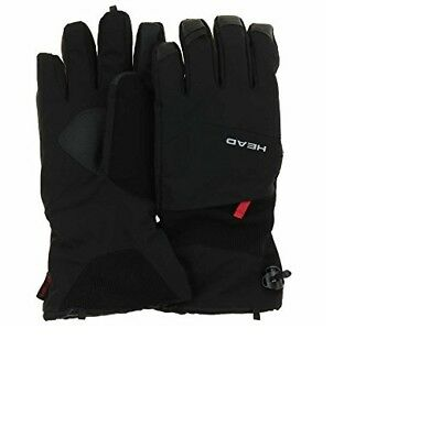 Head Men's DuPont Sorona Insulated Ski Glove With Pocket BLACK LARGE
