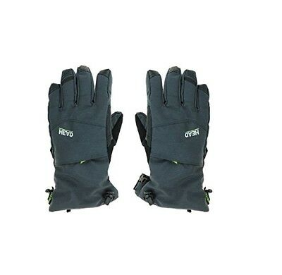 Head Men's DuPont Sorona Insulated Ski Glove Pocket CHARCOAL DARK HEATHER XL