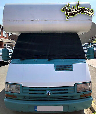 Deluxe Black Out Blind Motorhome Screen Cover Fiat Talento J5 Ducato 1981-1993