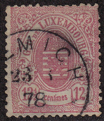 LUXEMBOURG Used Scott # 35 Perf 13 (1 Stamp)