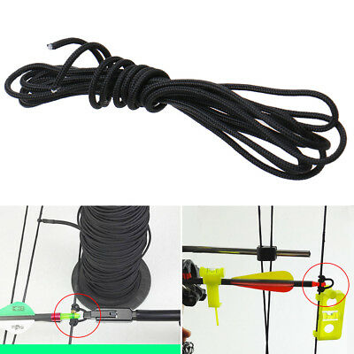 2.5mm x 2m Release Archery Compound Bow String Nock D Loop Cord Rope Bowstring