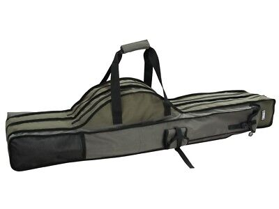 D.A.M Padded rod holdall 3 compartments 110-190cm robust, hands-free