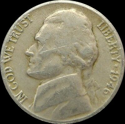"""United States / 1946 D / 5 Cents / """"jefferson Nickel"""""""