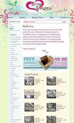Online Scrapbooking Business For Sale