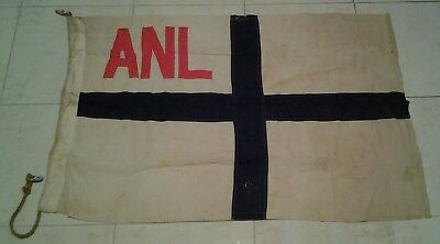 "ANL FLAG from ship ""NORTH ESK"" circa 1958-79 Australian National Line"