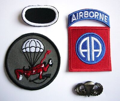 "WWII - 508th P.I.R ""82nd AIRBORNE"" (Set de 4 - Reproductions)"