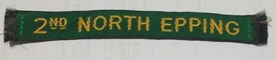 2nd North Epping name tape