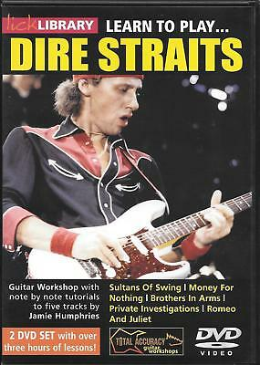 Lick Library-Guitar: Dire Straits (2DVD)