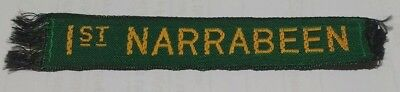 1st Narrabeen name tape