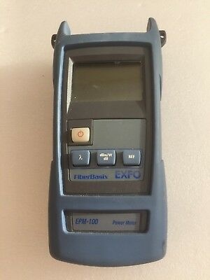 EXFO EPM-100 SM MM Fiber Power Meter, Optical Power Meter