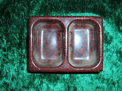 Vintage bakelite double ink holder