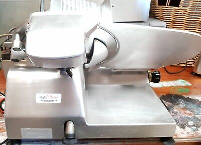 COMMERCIAL OMAS DELI MEAT & CHEESE SLICER 13.5cm BLADE