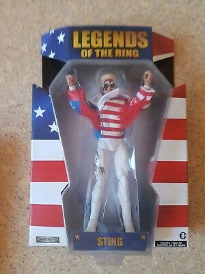 Legends of the Ring Sting wwe wcw Figur
