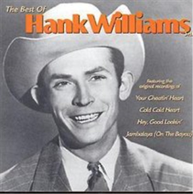 Hank Williams Snr-The Best Of Hank Williams Snr  (UK IMPORT)  CD NEW