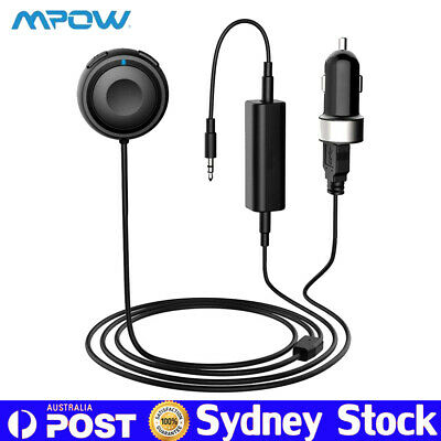 Mpow Bluetooth Receiver Stereo Car Kit Gesture-Sensing Handsfree Noise Isolator