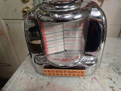 Immitation Seeburg Jukebox Wallbox Not Working Suit Mancave