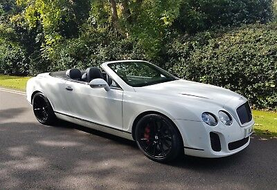 Bentley Continental Supersports Convertible 6.0 W12 Four Seat Automatic 2011