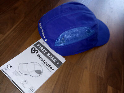 Scott Safety Anstosskappe First Base + Bump Cap blau - HC22 ***Neu***