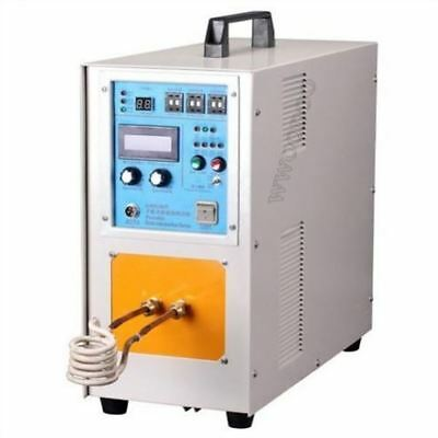 High Frequency 15Kw 30-100KHZ Induction Heater Furnace System Machine gv