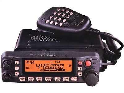 FT-7900R Mobile Dual-Band Amateur Ham Radio 50W/45W Vhf/Uhf Taxi Transceiver lo