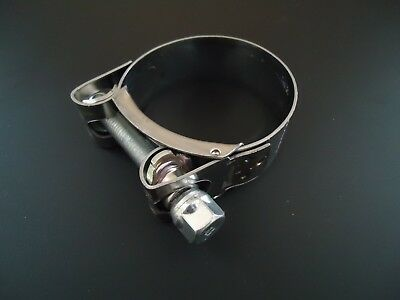 Mikalor Stainless Steel Exhaust Clamp 43mm 44mm 45mm 46mm 47mm