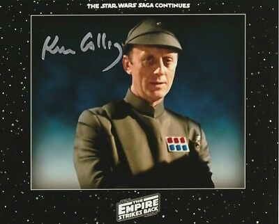 Kenneth Colley SIGNED in Person photo - J1397 - Star Wars