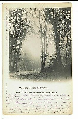 CPA-Carte postale-France - Parc de St Cloud -Un coin du Parc -1906 -S57