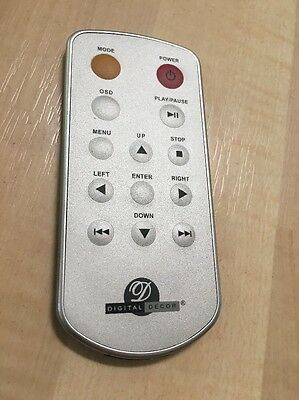 Digital Decor Photo Frame Remote Control Replacement Excellent Condition