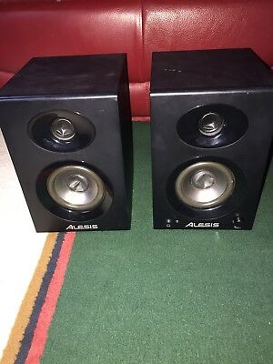 Alesis Elevate 3 MKII Active Powered DJ Studio Monitor Speaker Pair Inc Warranty